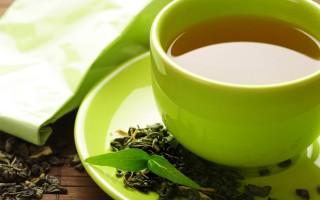 полезные напитки - зеленый чай