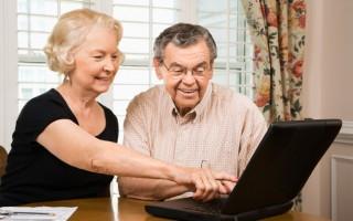 интернет и старики