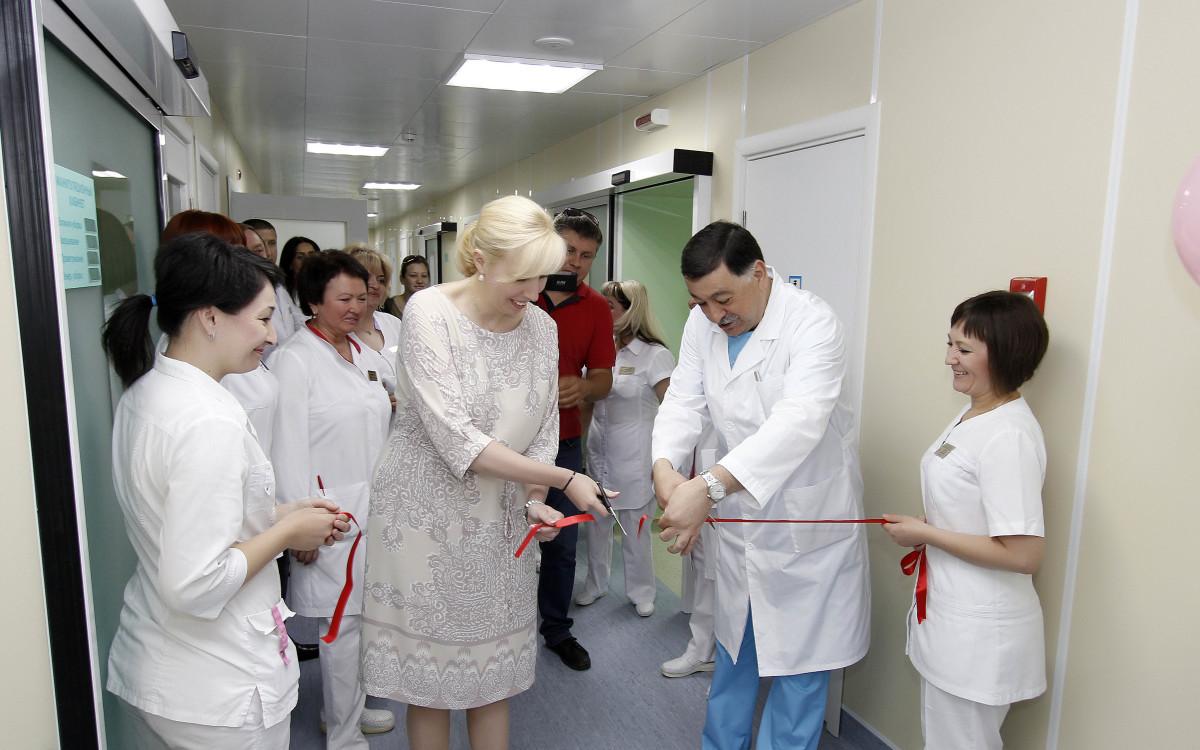 модернизация Перинатального центра ККБ №2