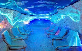 Соляные пещеры из соли Черного моря