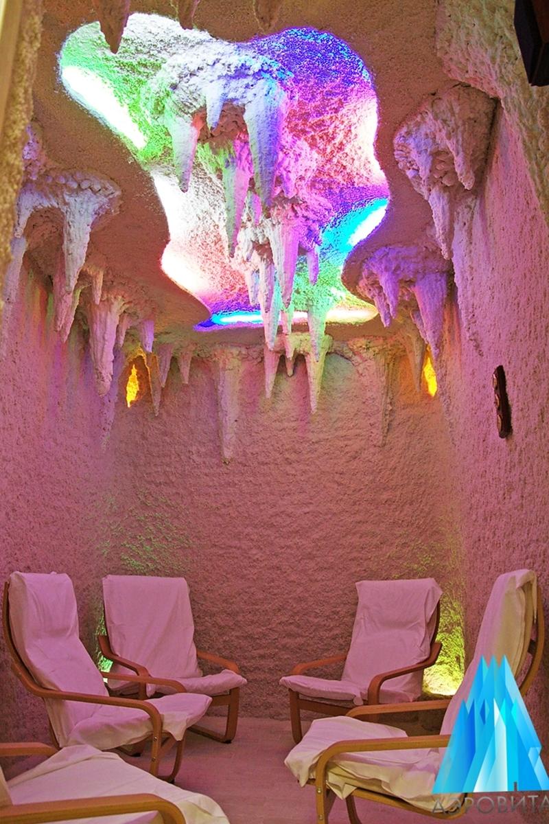 Соляная пещера с ультразвуковым галогенератором